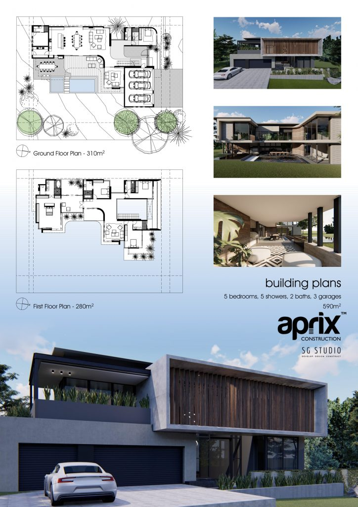 Aprix Construction is recognised as one of South Africa's foremost reputable building companies. Its years of professional experience enable it to undertake any building project